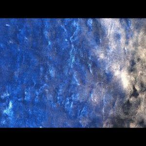 Vince Camuto Tops - Women's XS Vince Camuto one-shoulder blue velvet